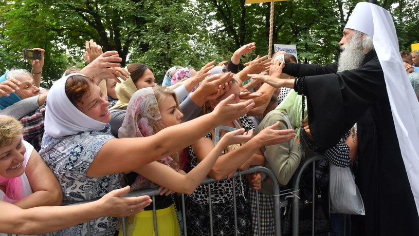 Kijowscy wierni /AFP