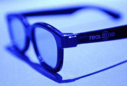Kilka formatów 3D oznacza, że na rynku pojawiło się wiele rodzajów okularów. Na zdjęciu sprzęt RealD /AFP