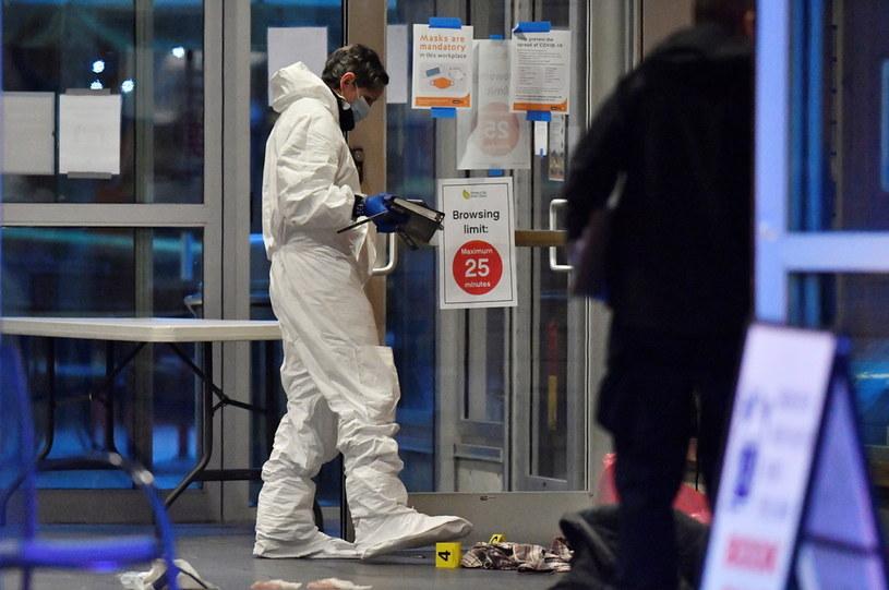 Kilka osób zostało rannych w rezultacie ataku nożwnika w Vancouver /JENNIFER GAUTHIER /Agencja FORUM