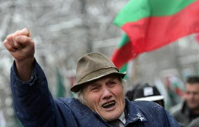 Kilka tysięcy oburzonych obywateli wyszło na ulice Sofii, Warny, Płowdiwa i Błagojewgradu /AFP