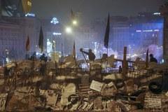 Kilka wielkich blokad pojawiło się w nocy w Kijowie
