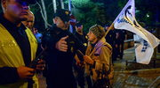 Kilkadziesiąt osób protestuje przed Sejmem