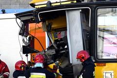 Kilkanaście osób rannych w zderzeniu tramwajów w Warszawie