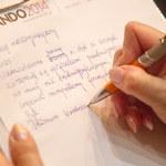 Kilkaset osób napisało w Katowicach Ogólnopolskie Dyktando