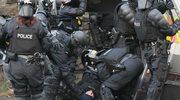 Kilku rannych w czasie marszu oranżystów