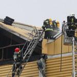 Kilkumilionowe straty po pożarze magazynu w browarze w Braniewie