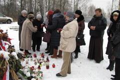 Kilkunastu Polaków modliło się 1 listopada w Smoleńsku