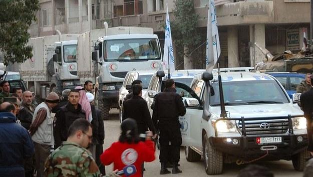Kilkuset cywilów zostało ewakuowanych z Hims /SANA HANDOUT /PAP/EPA