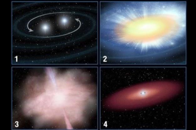Kilonowa to zupełnie nowy typ obiektów astronomicznych /materiały prasowe