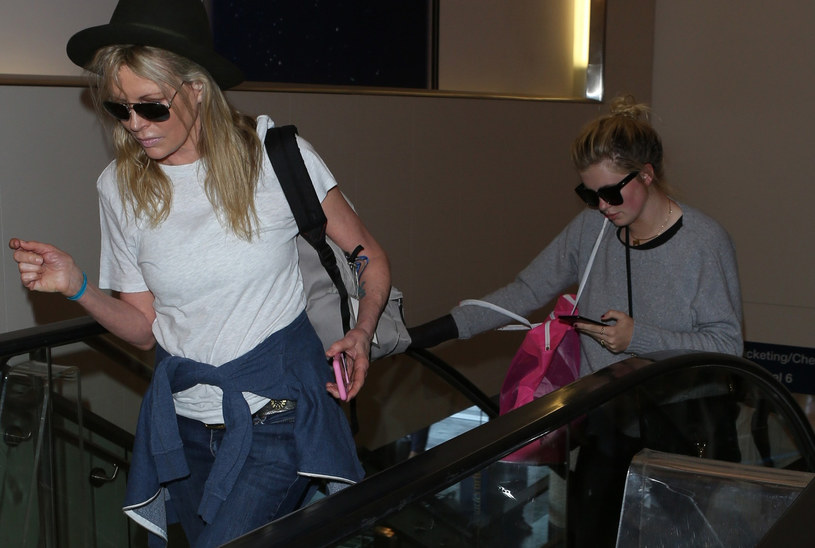 Kim Basinger i Ireland Baldwin /East News