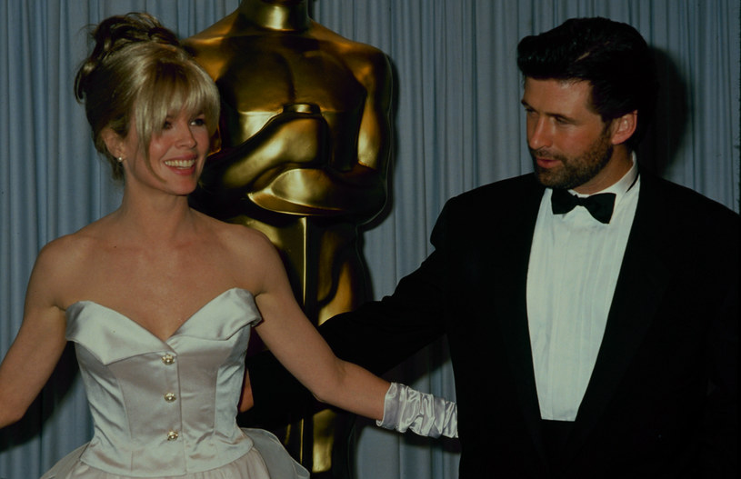 Kim Basinger i jej ówczesny mąż Alec Baldwin na rozdaniu Oscarów (1991) /The LIFE Picture Collection /Getty Images