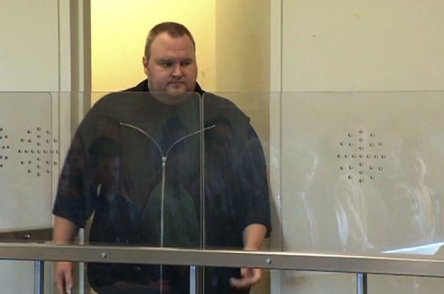 Kim Dotcom znów pogrywał sobie z nowozelandzką policją /AFP