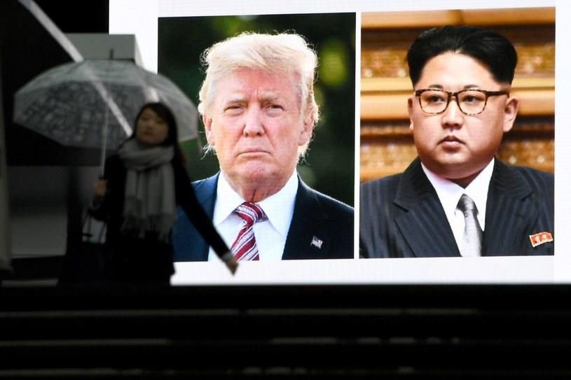 "Kim Dzong Un ""analizuje sytuację"" po ""tak"" Donalda Trumpa /TOSHIFUMI KITAMURA /AFP"