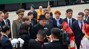 Kim Dzong Un dotarł pancernym pociągiem do Władywostoku