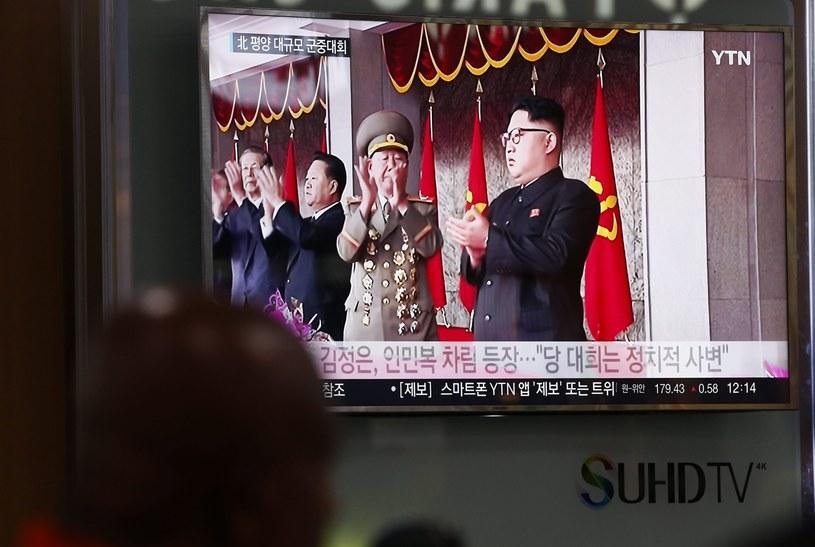 Kim Dzong Un na czele Partii Pracy Korei. /PAP/EPA