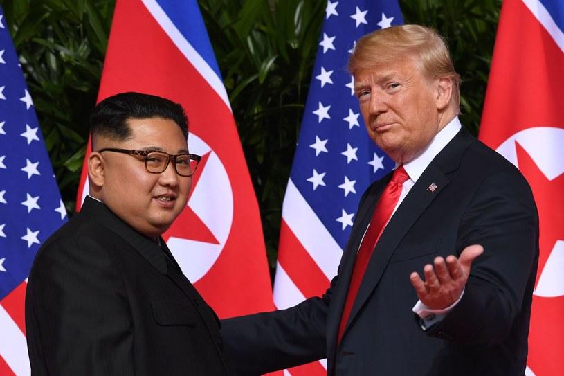 Kim Dzong Un (P) i Donald Trump /AFP