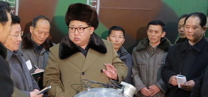 Kim Dzong Un prowokuje /PAP/EPA/KCNA /PAP/EPA