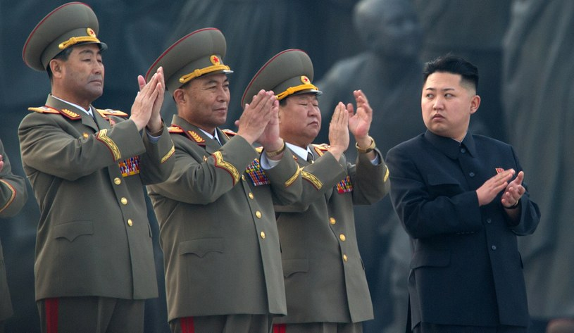 Kim Dzong Un - przywódca Korei Północnej /AFP