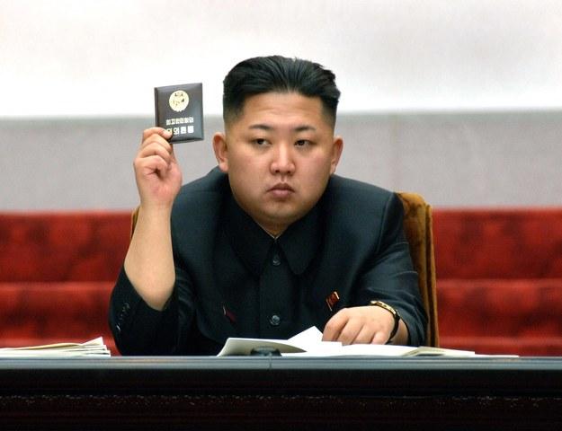 Kim Dzong Un /KCNA /PAP/EPA