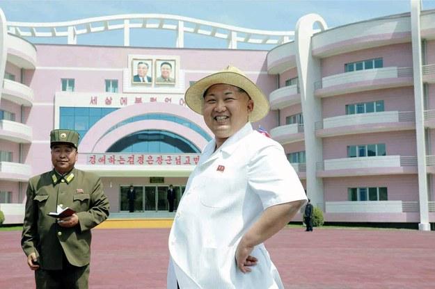 Kim Dzong Un /RODONG SINMUN  /PAP/EPA