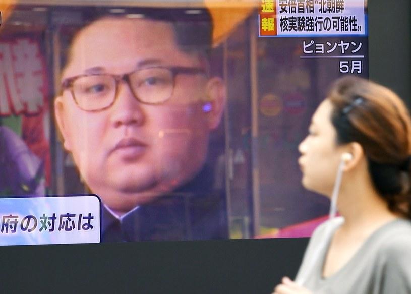 Kim Dzong Un /Reuters /Agencja FORUM