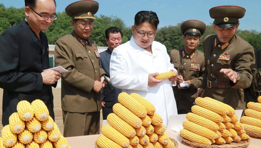Kim Dzong Un /Xinhua /PAP/EPA
