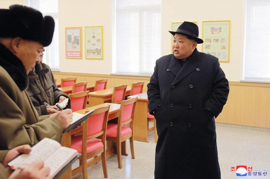 Kim Dzong Un /Newscom/KCNA /PAP