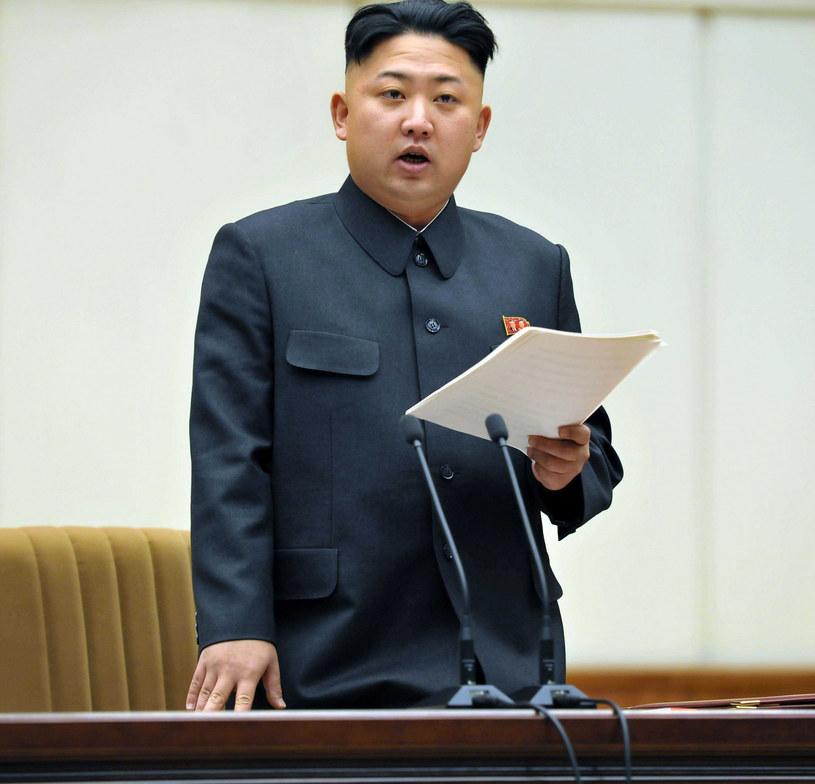 Kim Dzong Un /KCNA/CHINE NOUVELLE/SIPA/EAST NEWS /East News