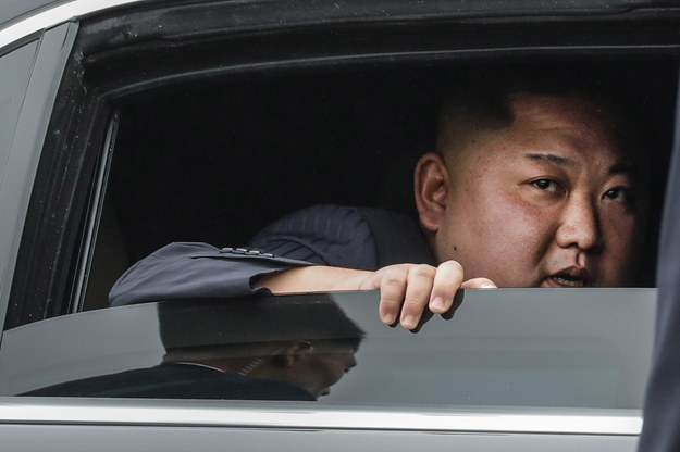 Kim Dzong Un /WALLACE WOON /PAP/EPA