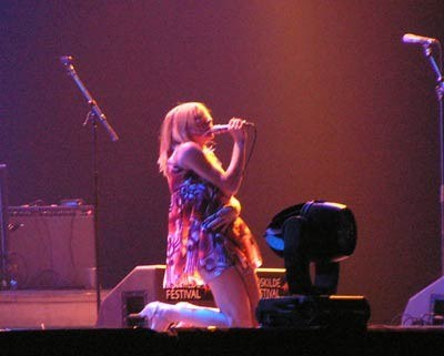 Kim Gordon (Sonic Youth) /INTERIA.PL