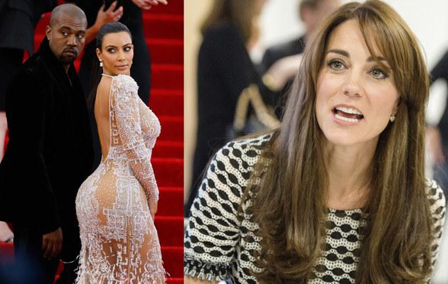 Kim i Kanye nie zostaną przyjaciółmi Kate /- /Getty Images