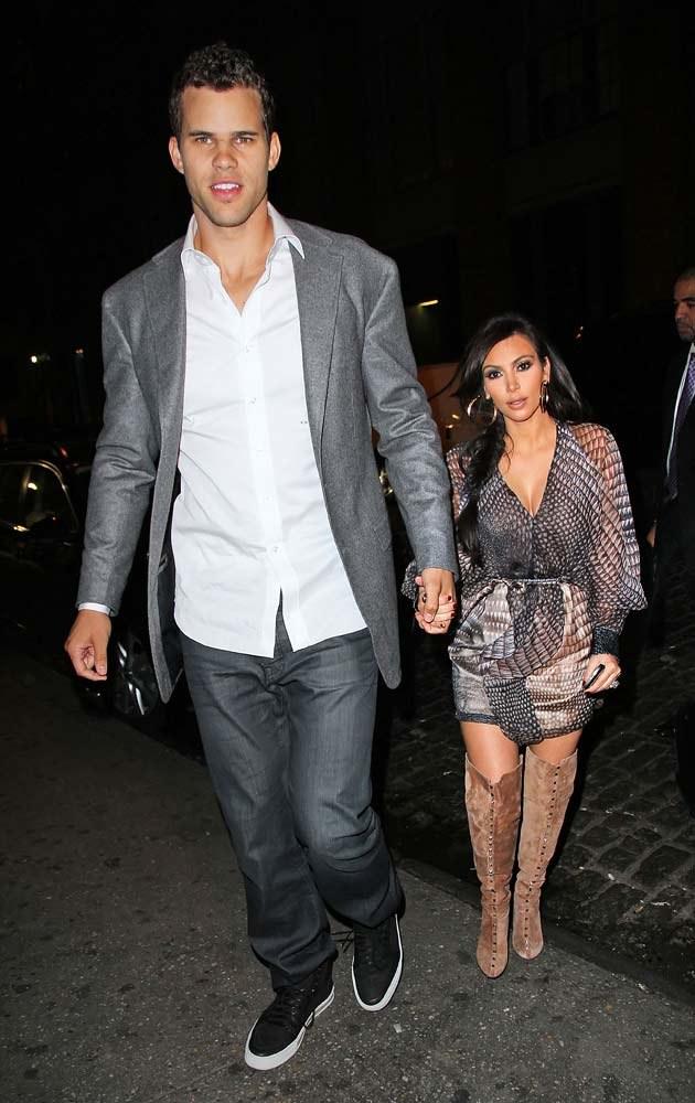 Kim i Kris  /Splashnews