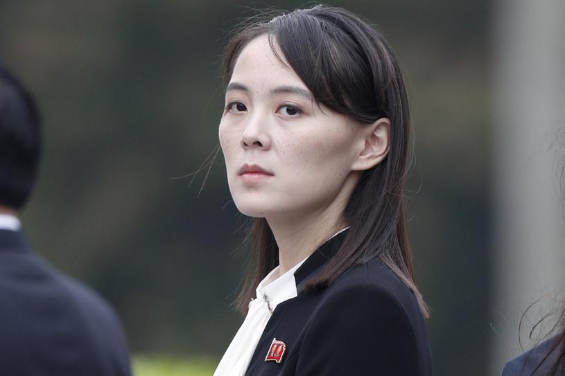 Kim Jo Dzong, siostra przywódcy Korei Płn. Kim Dzong Una /Bloomberg /Getty Images