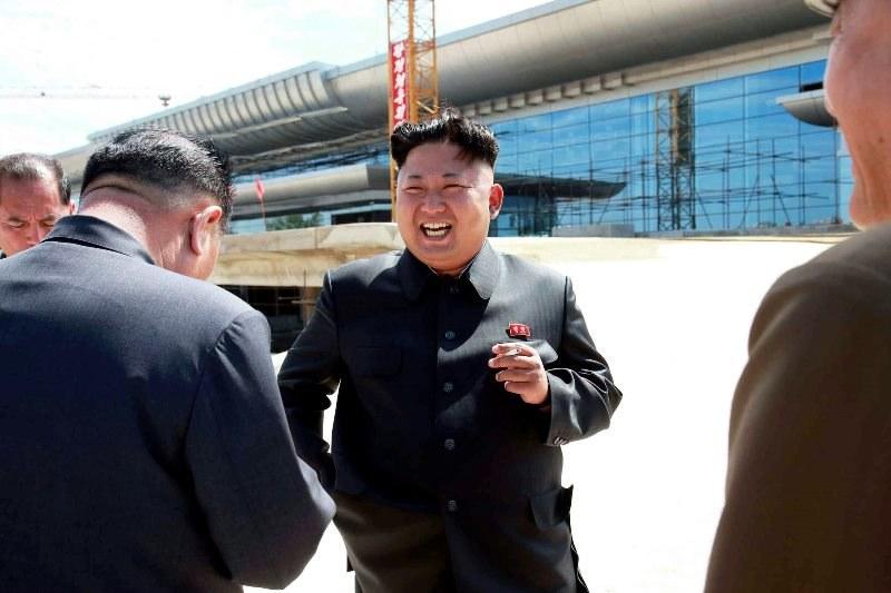 Kim Jong-un, przywódca Korei /KCNA /PAP/EPA