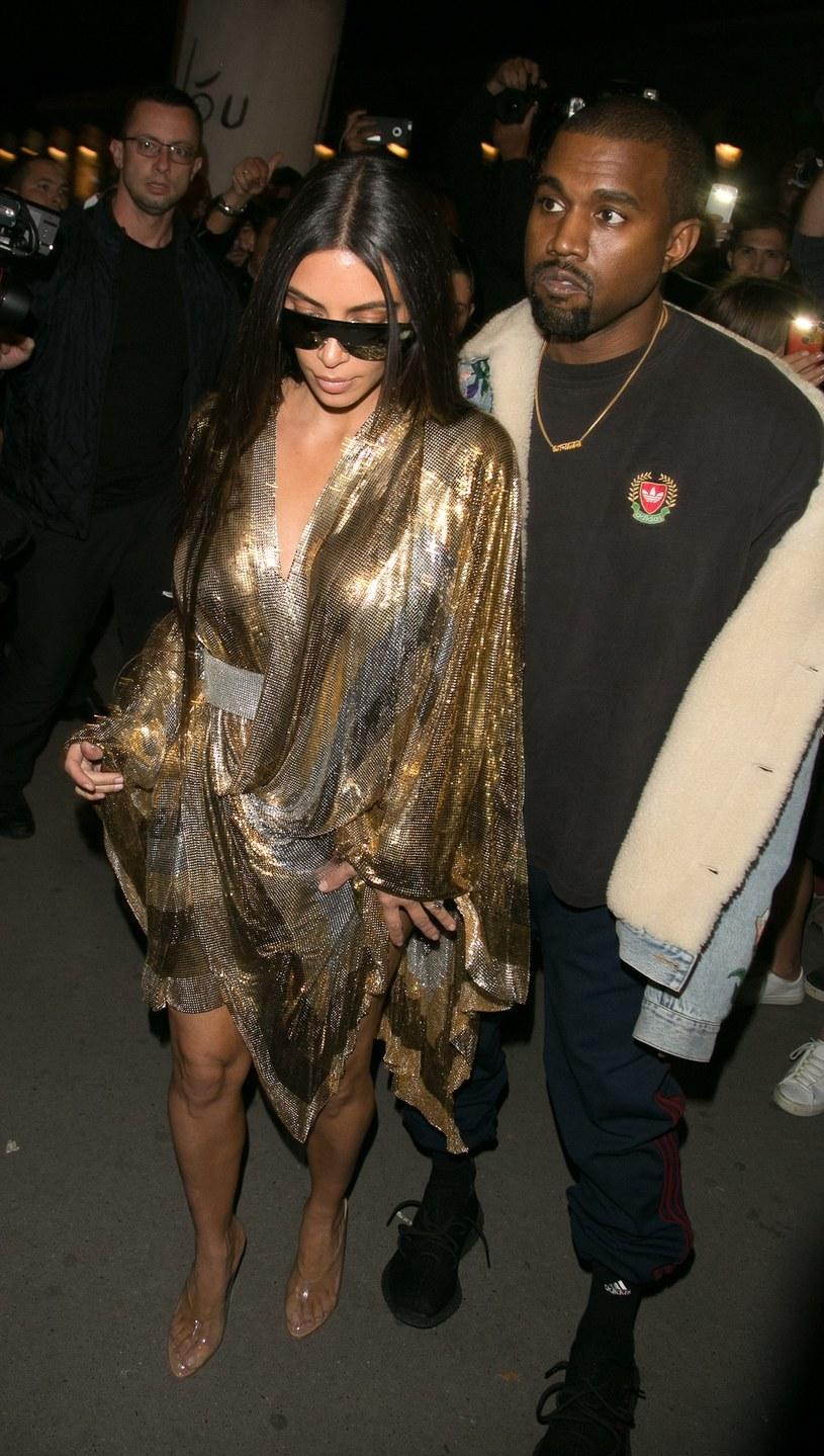 Kim Karadshian i Kanye West /Neil Warner / Splash News/EAST NEWS /East News