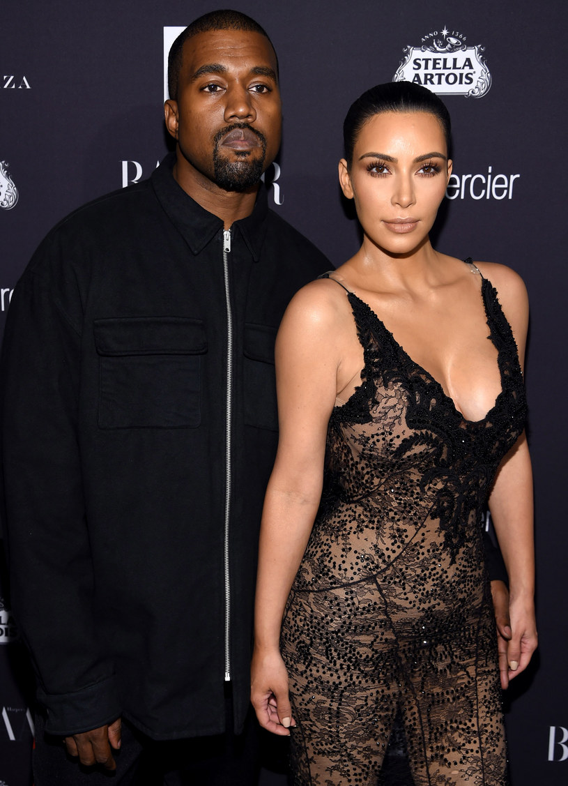 Kim Kardashian i Kaney West /Dimitrios Kambouris /Getty Images