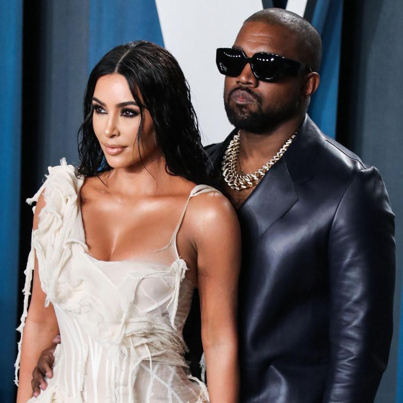 Kim Kardashian i Kaney West /East News