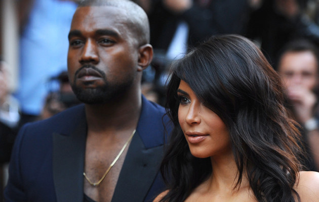 Kim Kardashian i Kanye West chcą, by powstał film o ich życiu! /Anthony Harvey /Getty Images