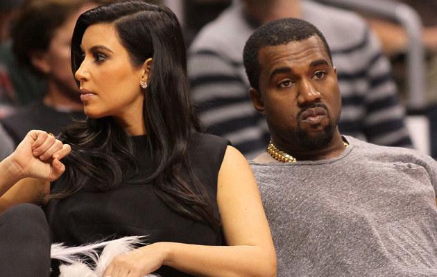 Kim Kardashian i Kanye West już po ślubie! /Victor Decolongon /Getty Images