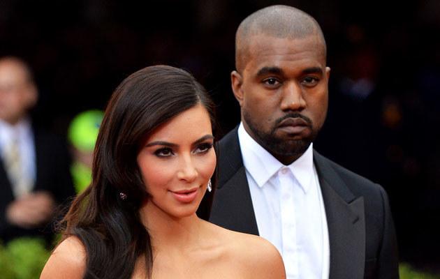 Kim Kardashian i Kanye West pobiorą się we Florencji! /Mike Coppola /Getty Images