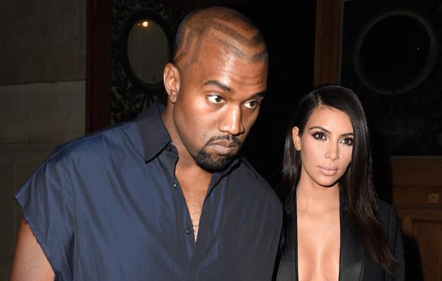 Kim Kardashian i Kanye West pokażą się razem nago w gazecie /Pascal Le Segretain /Getty Images