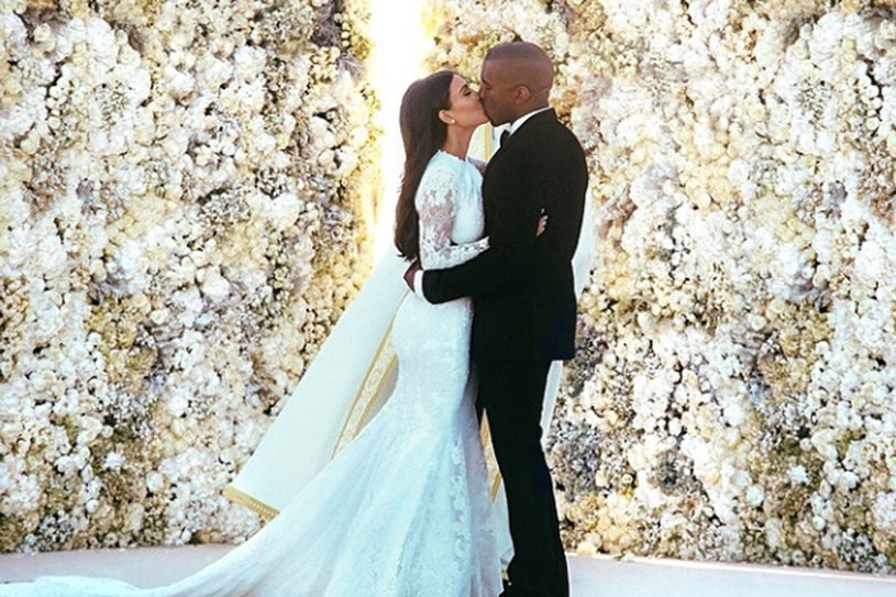 """Kim Kardashian i Kanye West powiedzieli """"tak""""/fot. Instagram /Styl.pl"""