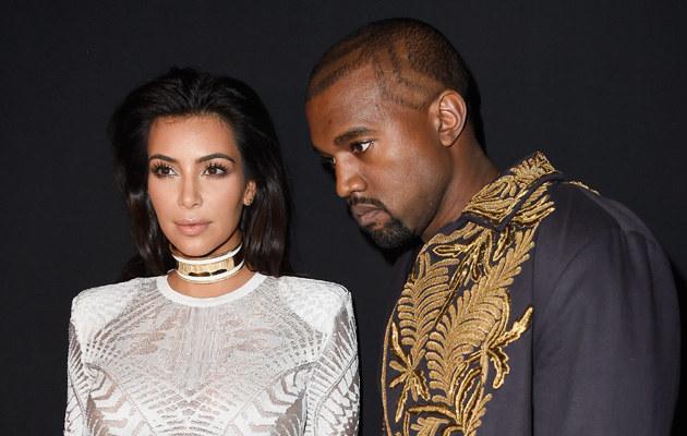 Kim Kardashian i Kanye West spędzają mało czasu razem /Pascal Le Segretain /Getty Images