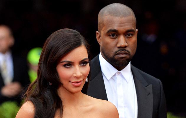 Kim Kardashian i Kanye West zdradzili imię synka /Mike Coppola /Getty Images