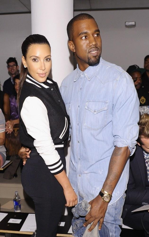 Kim Kardashian i Kanye West /Michael Loccisano /Getty Images