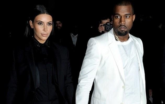 Kim Kardashian i Kanye West /- /Getty Images