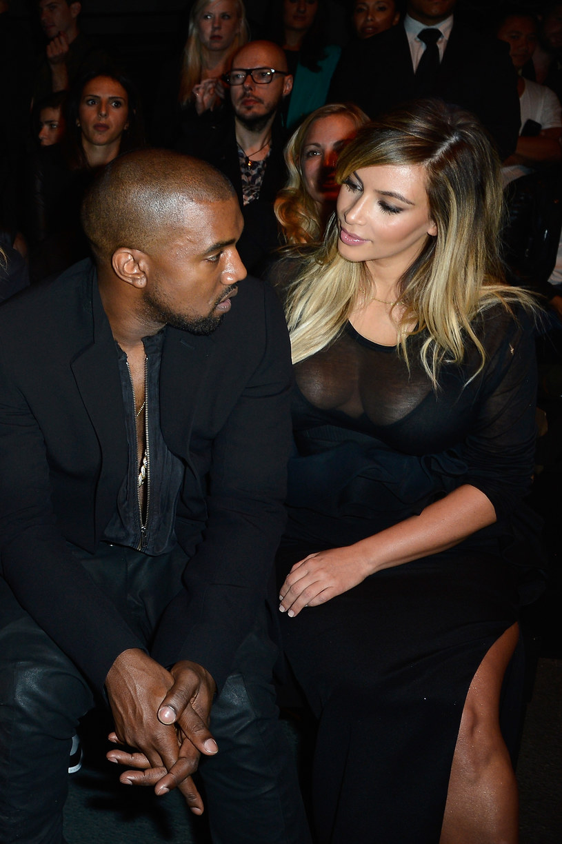 Kim Kardashian i Kanye West /Getty Images/Flash Press Media