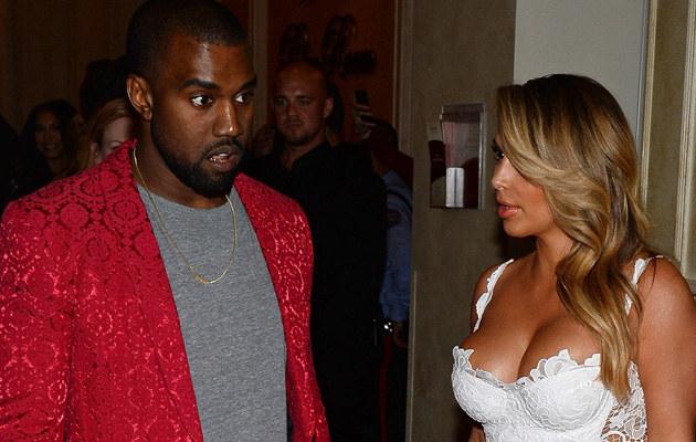 Kim Kardashian i Kanye West /Ethan Miller /Getty Images