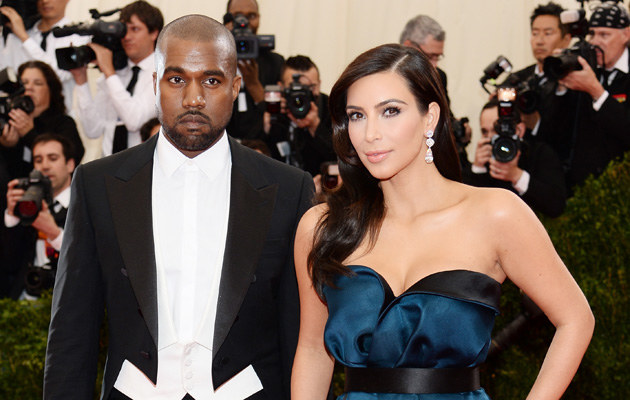 Kim Kardashian i Kanye West /Dimitrios Kambouris /Getty Images