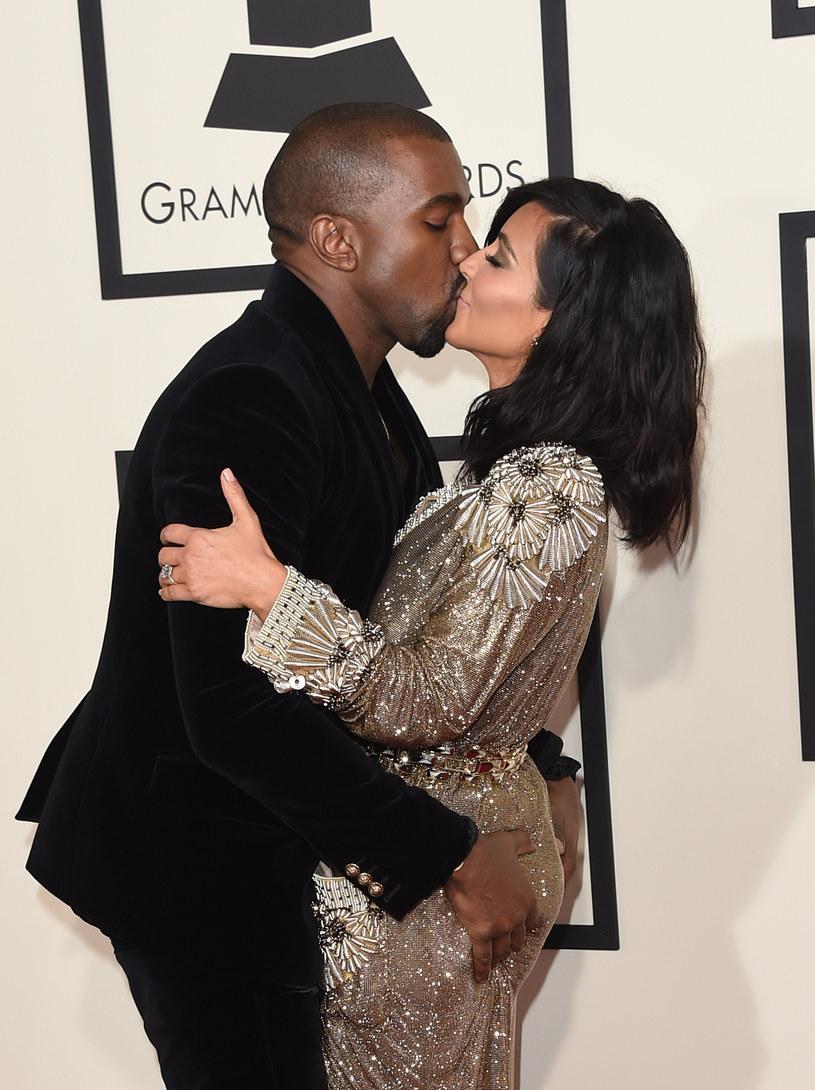 Kim Kardashian i Kanye West /Jason Merritt /Getty Images